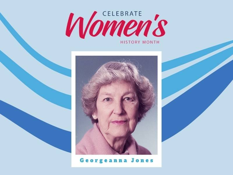 womens history month Georgeanna Jones ivf pioneer