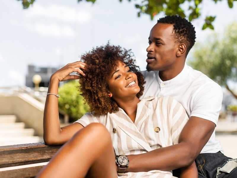 african american couple with infertility